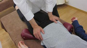 産後の骨盤締め調整